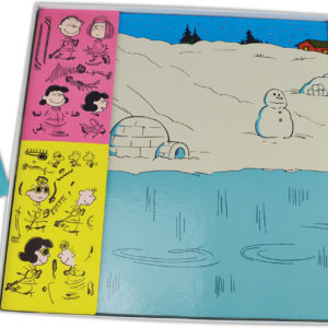 Retro Lucy's Winter Carnival Colorforms