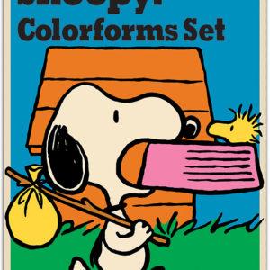 Retro Come Home Snoopy Colorforms
