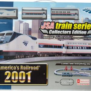 US train 2001 set Amtrak line 155