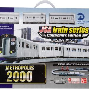 US train 2000 set MTA R160