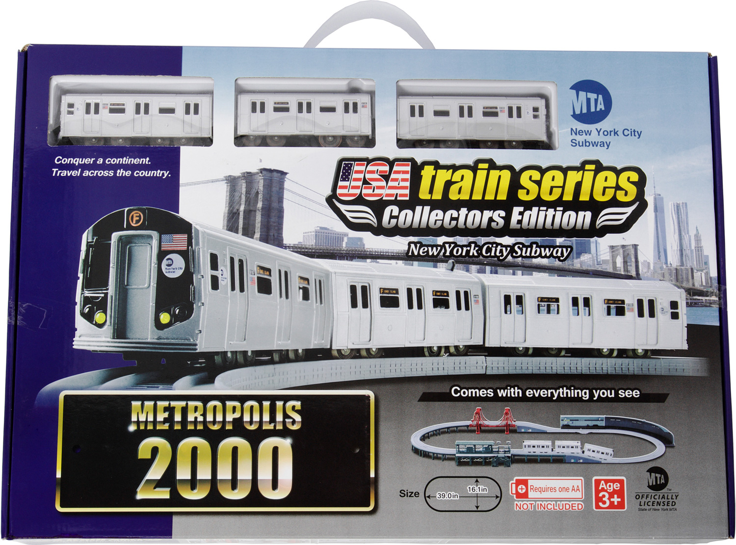 US train 2000 set MTA R160