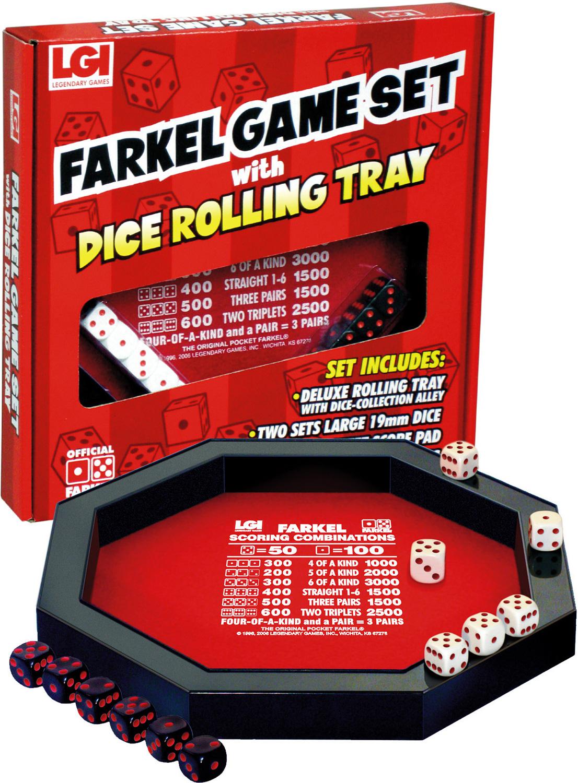 Farkel Rolling Tray