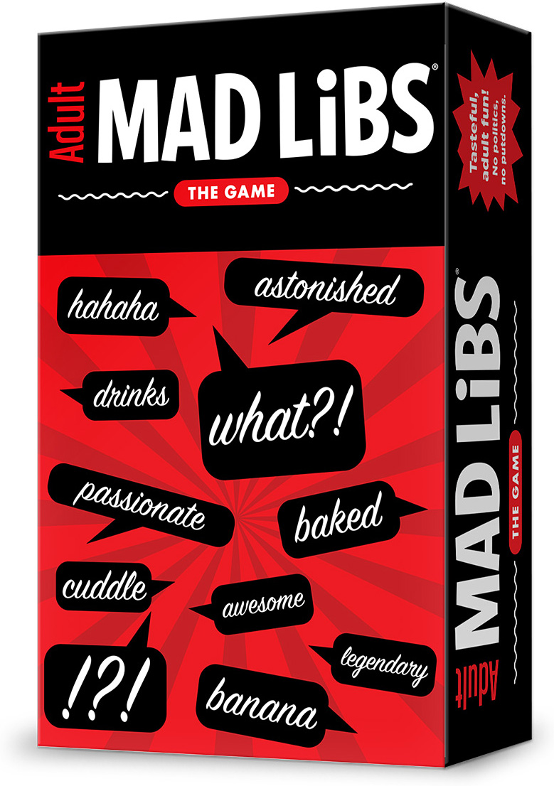 Adult Mad Libs®:The Game