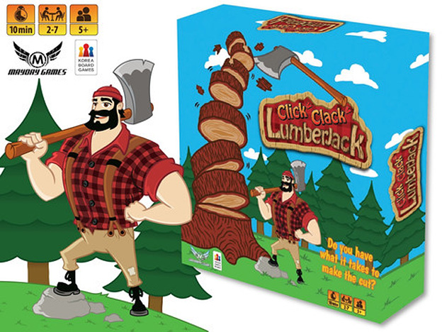 Click! Clack! Lumberjack! Axe Game NEW DESIGN