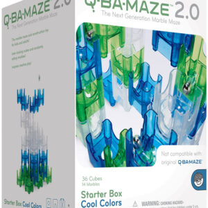 Q-BA-MAZE 2.0 Starter Box: Cool Colors