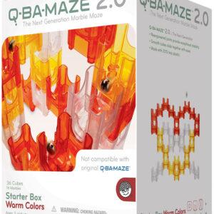 Q-BA-MAZE 2.0 Starter Box: Warm Colors