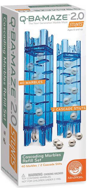 Q-BA-MAZE 2.0 Cascading Marble Refill Set