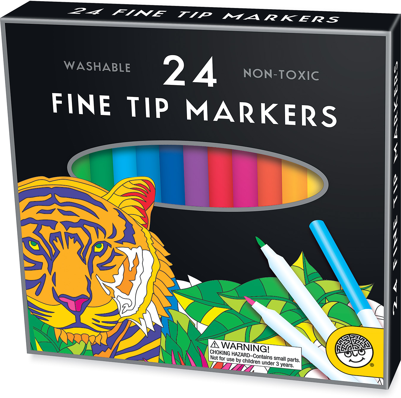 Fine Tip Markers 24 ct