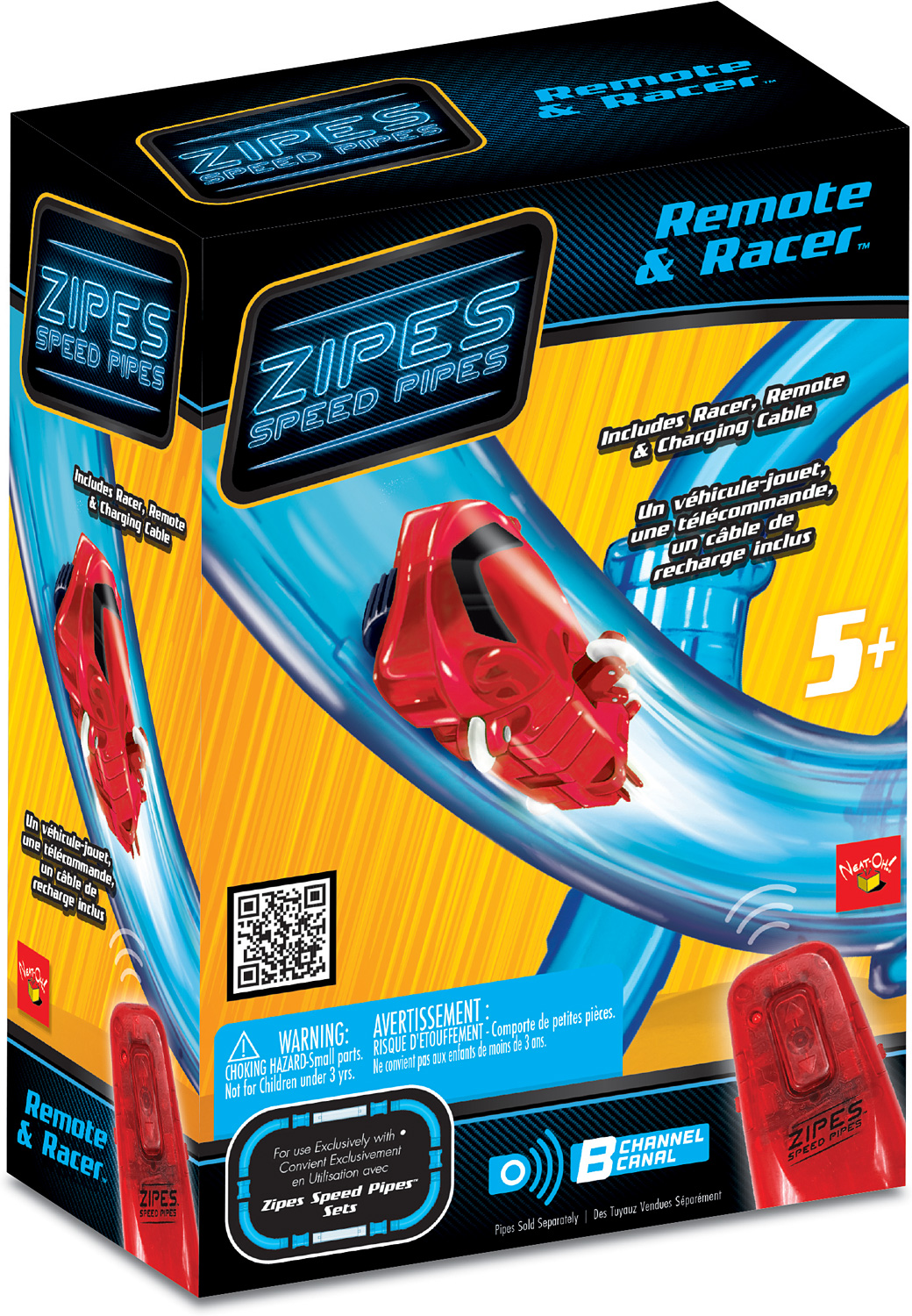 Zipes® Speed Pipes - Racer & Remote