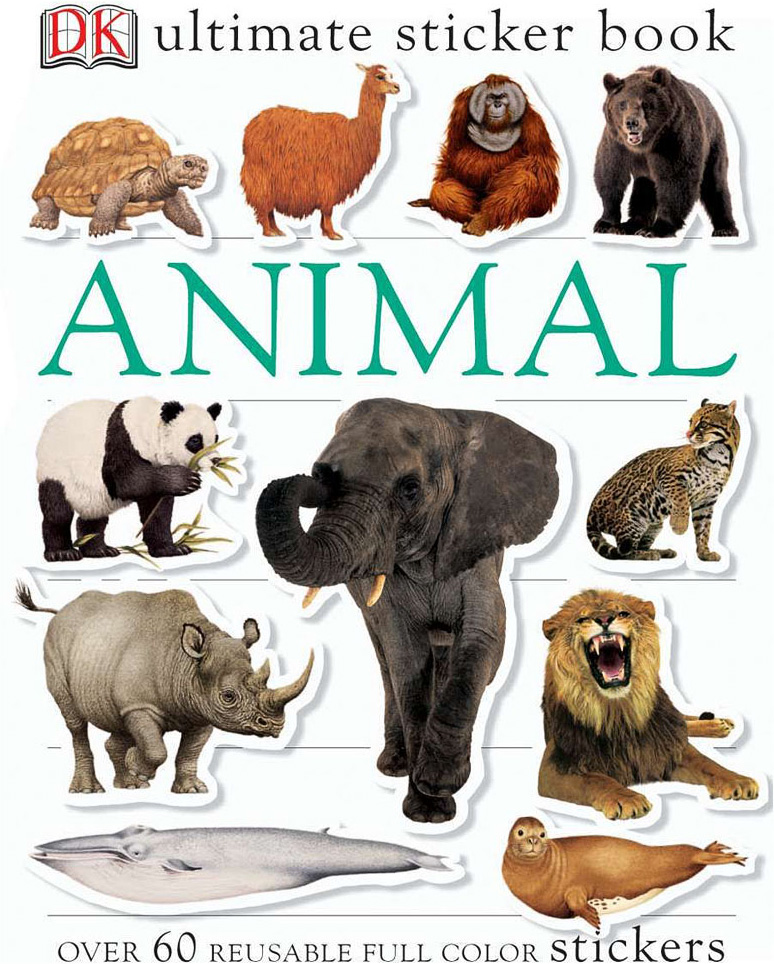 Sticker Book, Animal