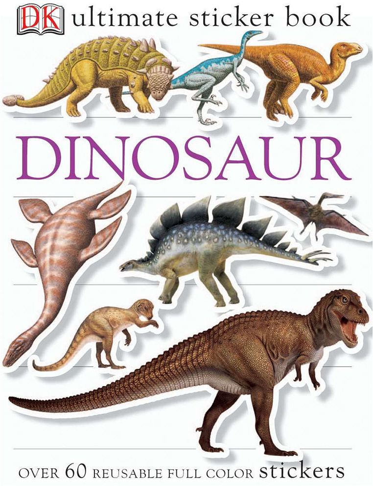 Sticker Book, Dinosaur
