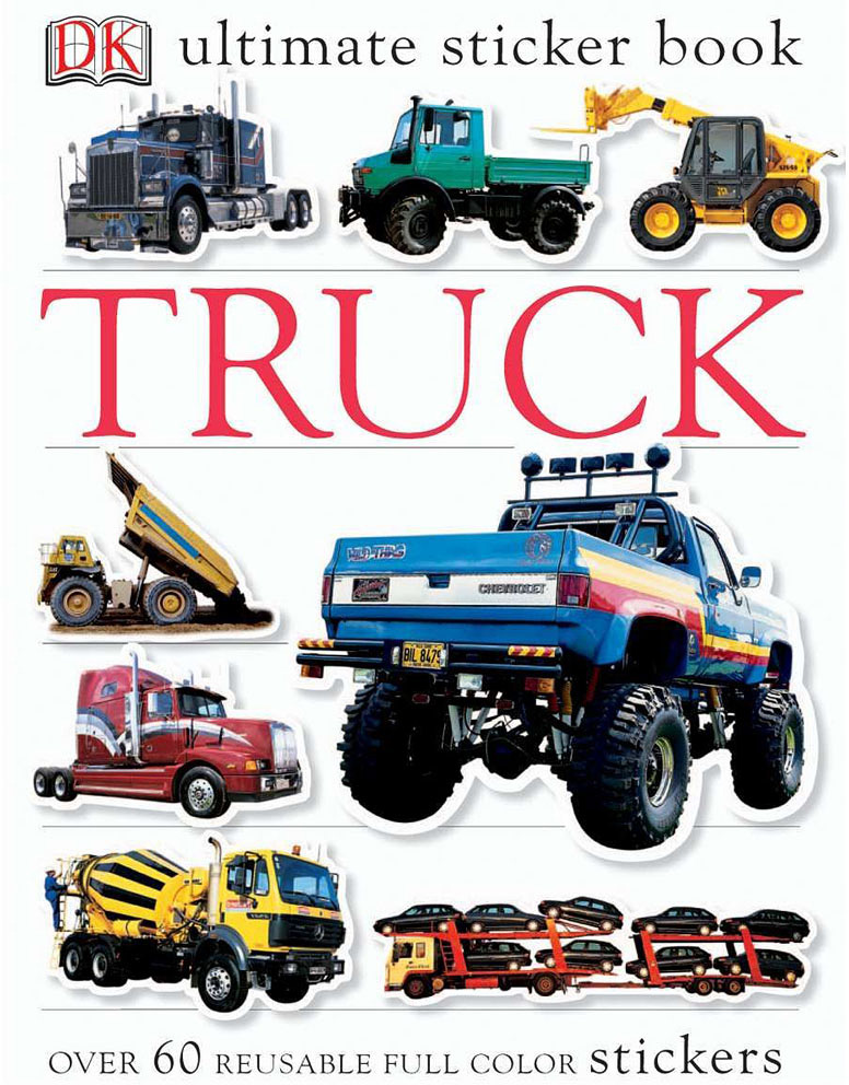 Sticker Book, Truck