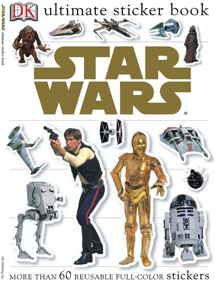 Ultimate Sticker Book, Star Wars Classic