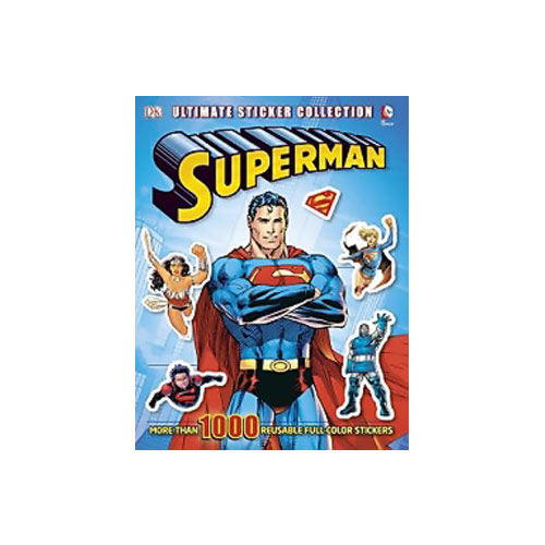 Ultimate Sticker Book, Superman