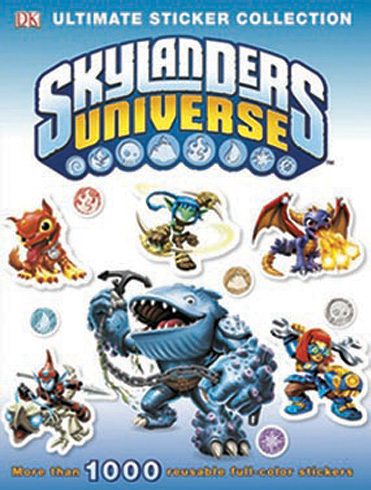 Ultimate Sticker - Skylanders