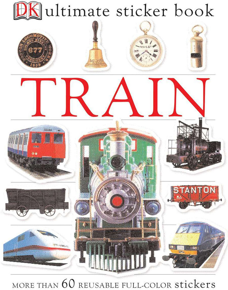 Sticker Book, Train