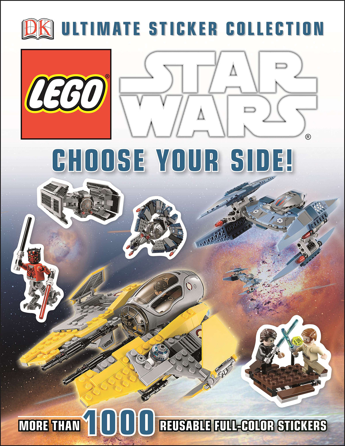 Ultimate Sticker - Lego Star Wars-Choose Your Side