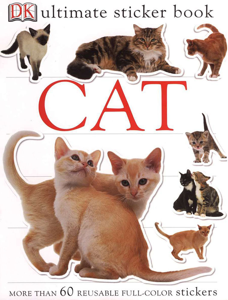 Sticker Book, Cat