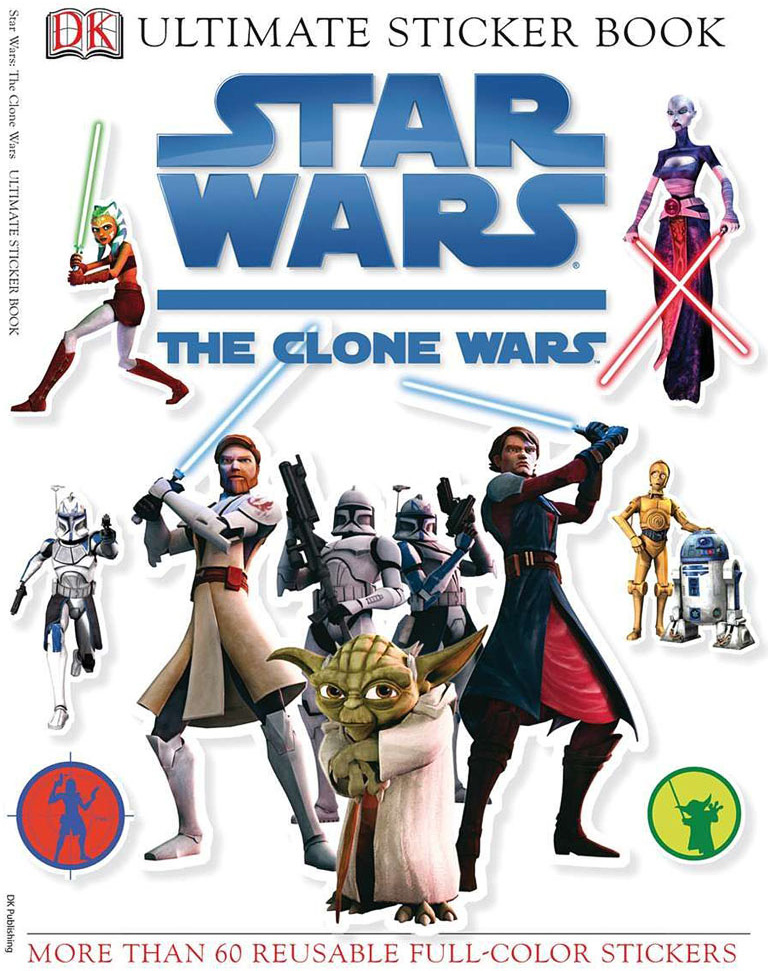 Ultimate Sticker Book, Star Wars Clone Wars