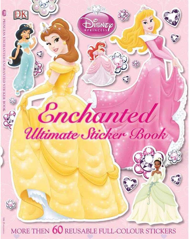 Ultimate Sticker Book, Disney Princesses