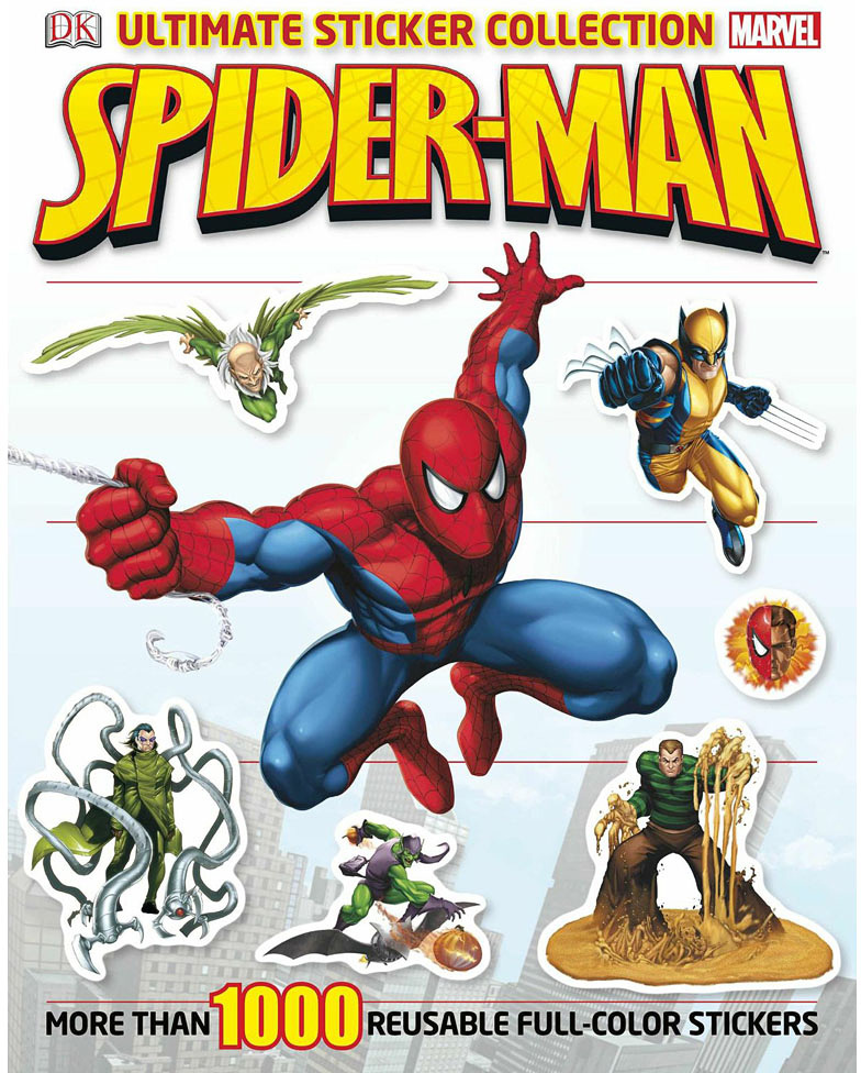 Ultimate Sticker Book, Spiderman
