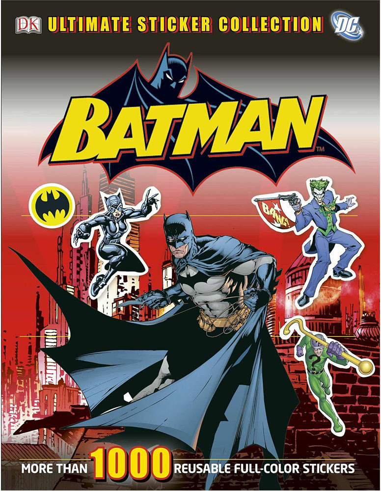 Ultimate Sticker Book, Batman