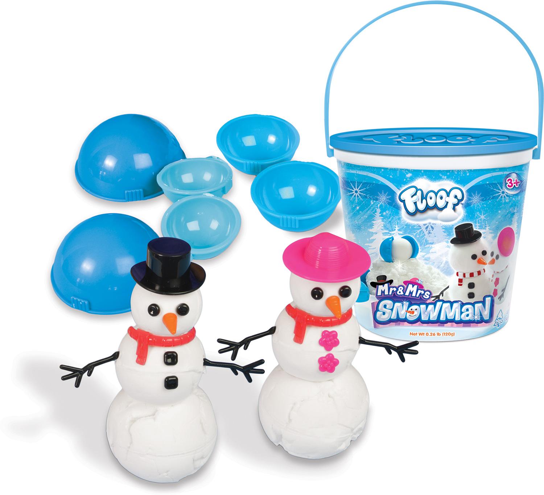 Floof Mr. & Mrs. Snowman