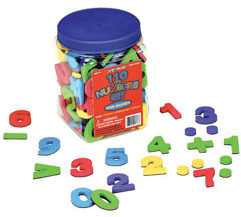 Magnetic Numbers 120 pc