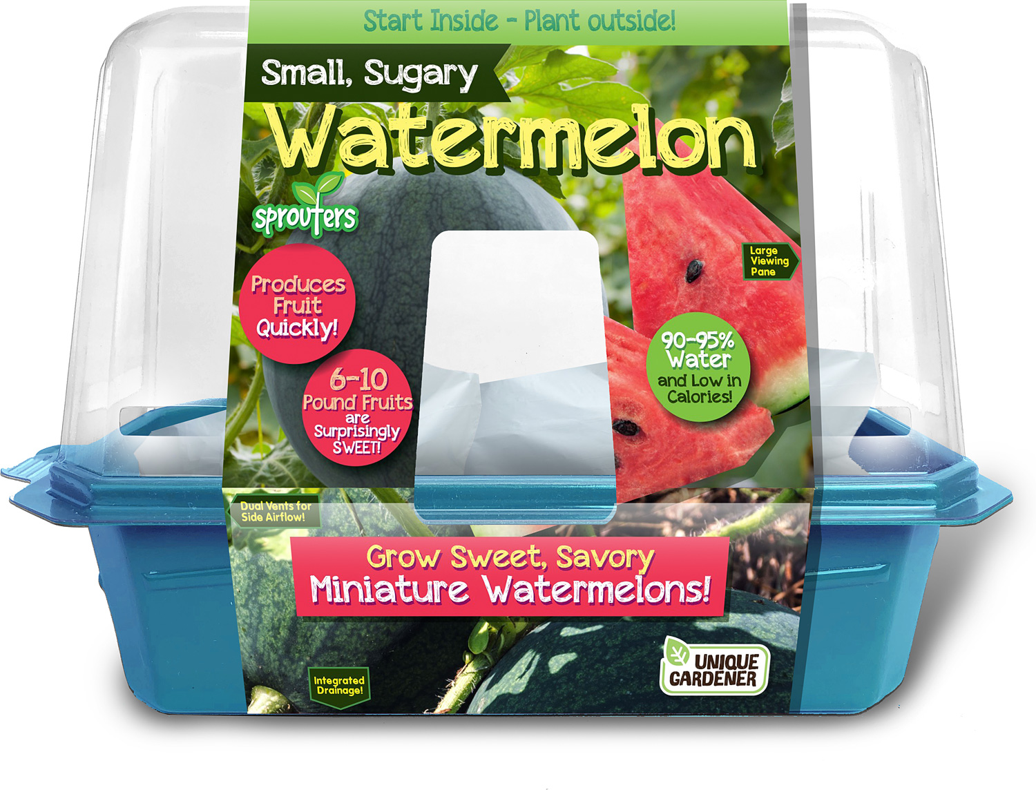 Small, Sugary Watermelon