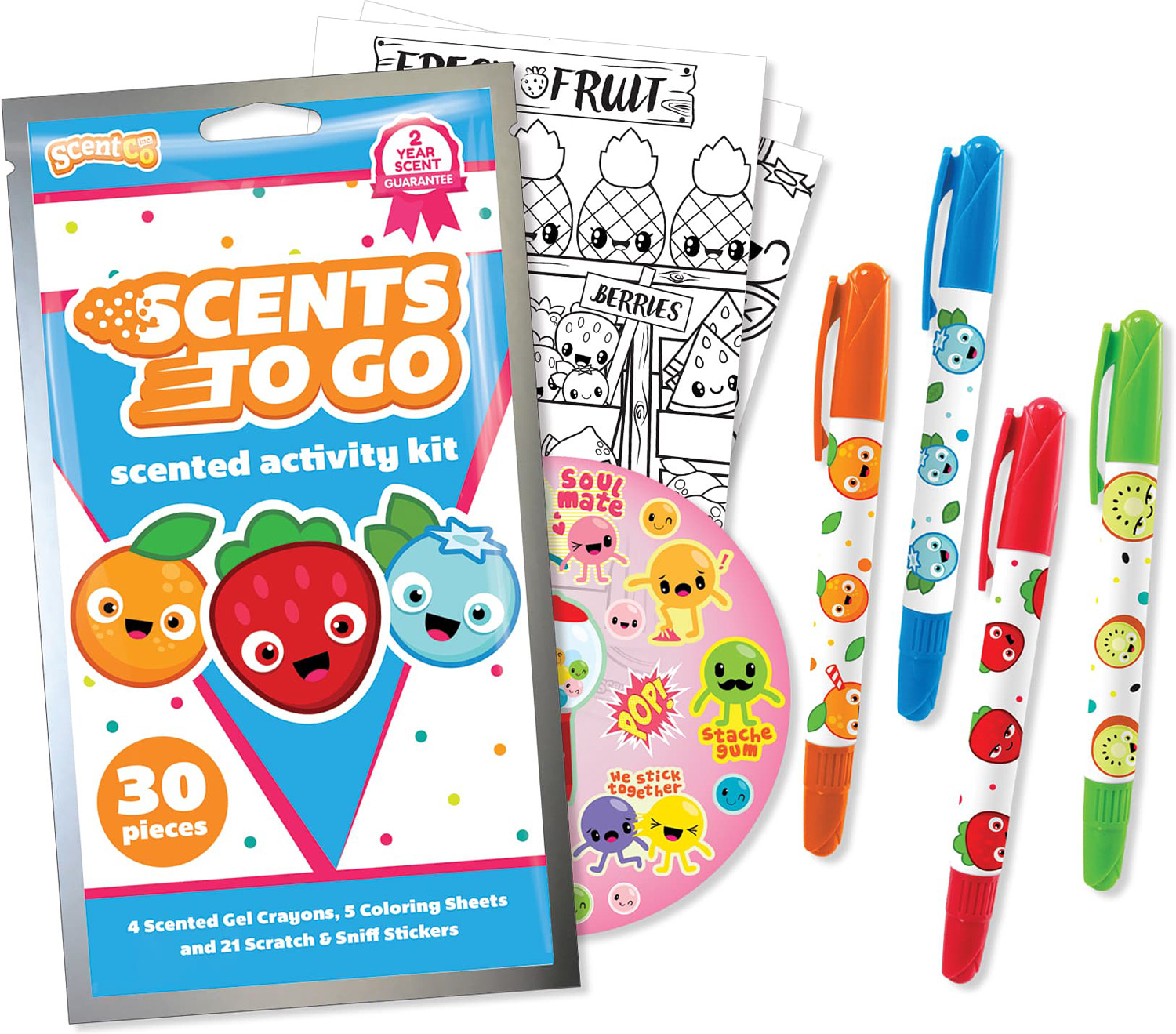 Scents to Go Gel Crayons