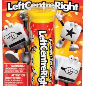 Left Center Right Dice Game - Tube Blister