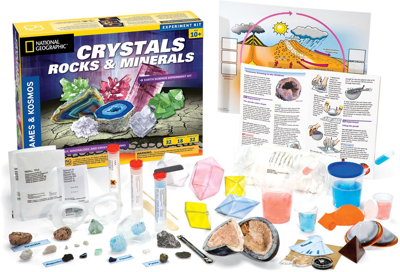 Crystals, Rocks & Minerals