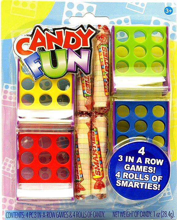 Candy Fun 3 in a Row Games 4-PC