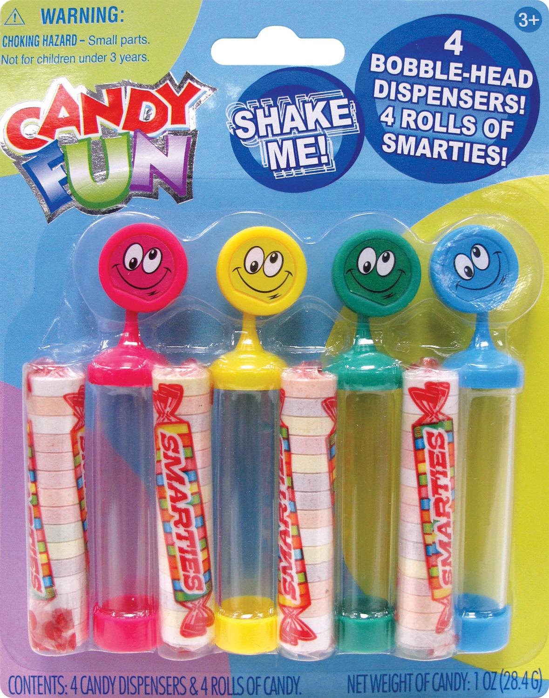 Candy Fun Dispensers 4-PC.
