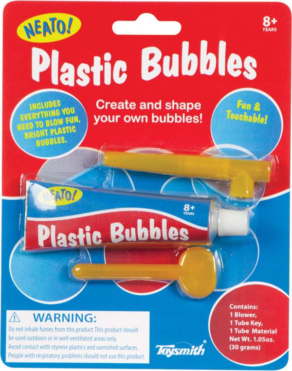 Colorful Plastic Bubbles