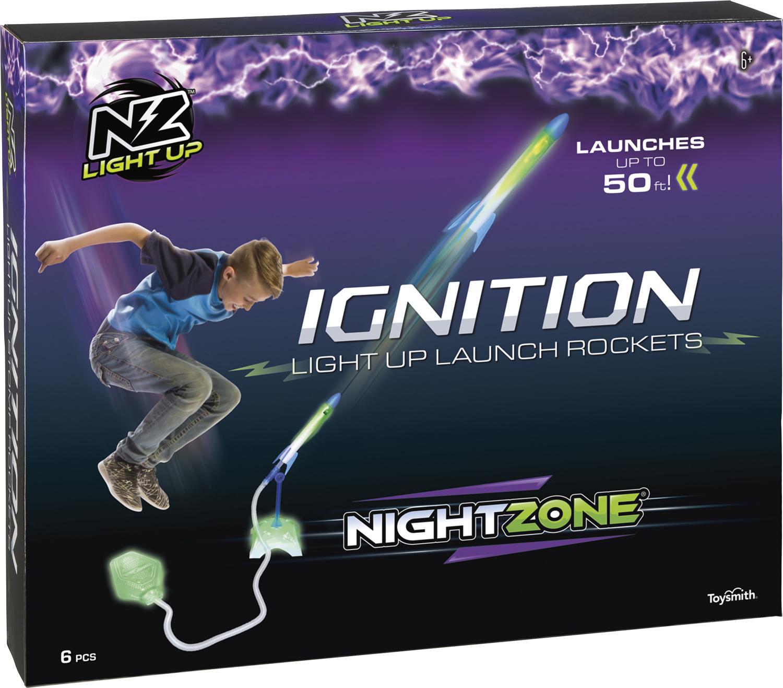 NightZone - Ignition Light Up Stomp Rockets