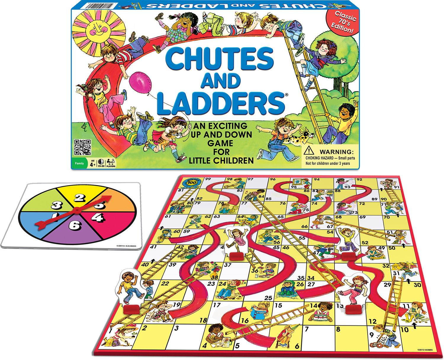 CLASSIC CHUTES and LADDERS®