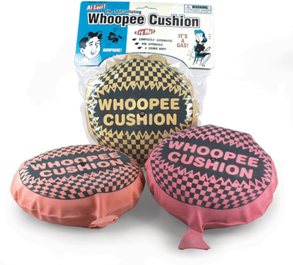 Self Inflating Whoopee Cushion