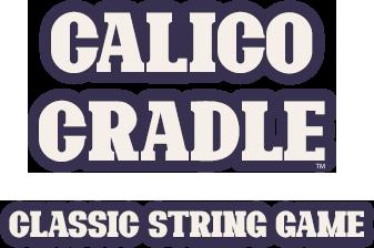 Calico Cradle classic string game logo text